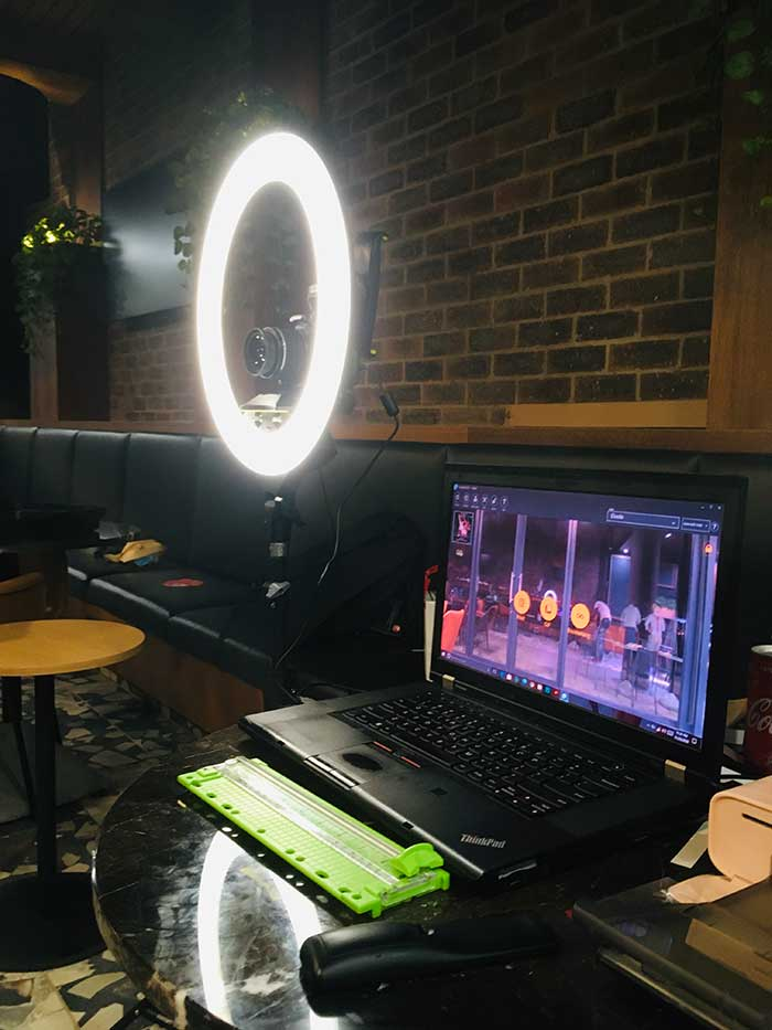 The best ring light photo booth to hire in Johannesburg. You can also rent a photo booth in Pretoria